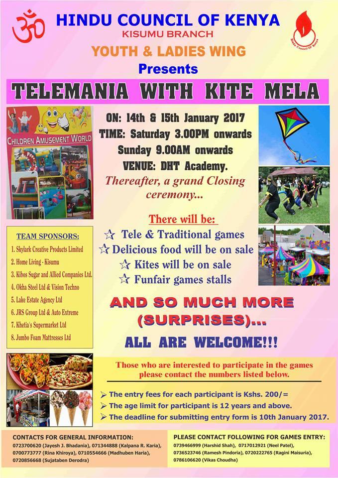 TELEMANIA WITH KITE MELA
